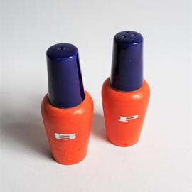 hout peper en zout nagellak salt pepper jars 1960s
