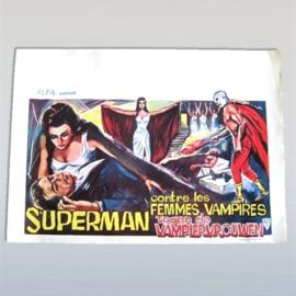 superman femmis vampires vampiervrouwen cult filmposter poster 1960s
