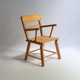 kinderstoel brutalist children's chair 1960s / 1970s