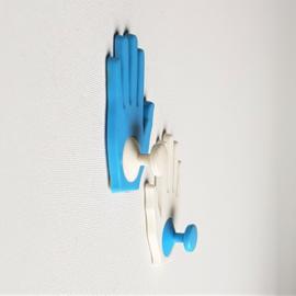 haak kapstok 2x handen ongebruikt hand shaped hooks 1970s / 1980s