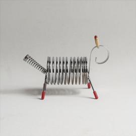 brievenhouder dierenvorm animal shaped letter pencil holder 1960s