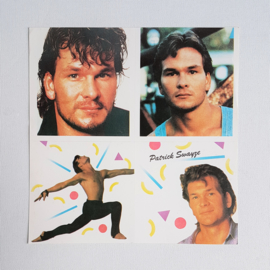dirty dancing patrick swayze stickers 1980s