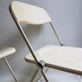 stoel 2x plia klapstoel pair of giancarlo piretti folding chairs castelli 1967