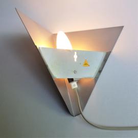 wandlamp wall lamp pyramide j.hoogervorst anvia 1950s / 1960s
