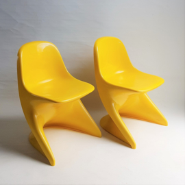 kinderstoel 2x set children's chair casalino alexander begge 1970s