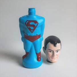 superman badschuimfles soaky colgate palmolive 1965