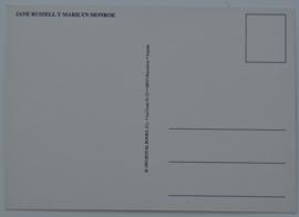 monroe, marilyn + jane russell ansichtkaart ongelopen postcard GRATIS VERZENDEN
