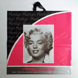 monroe, marilyn elvis presley plastic tas bag XXL 1990s