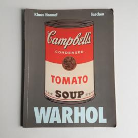 art warhol, andy boek book taschen 1989