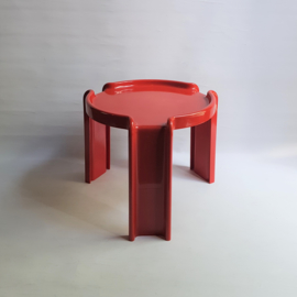 tafel bijzettafel side table kartell giotto stoppino italy space age 1970s