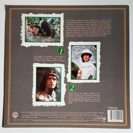 greystoke: the legend of tarzan, lord of apes soundtrack LP 1984