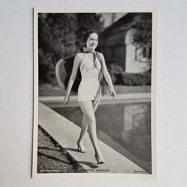 lamour, dorothy kaart pin-up photo card ross verlag 1940s