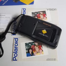 polaroid vision 95 instant camera in box 1990s