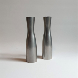 kandelaar set abstract modernism pair of erika pekkari candle holders 1990s