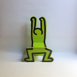 haring, keith kinderstoel children's chair vilac france green
