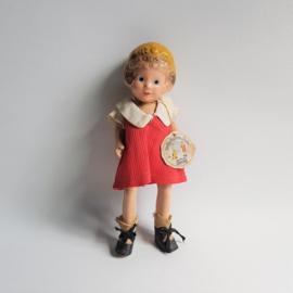 annie pop little orphan annie composition doll ralph a. freundlich 1930s