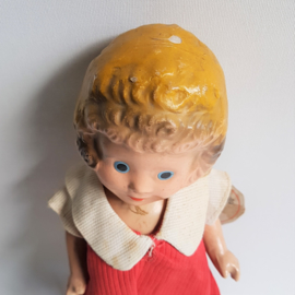 annie pop little orphan annie composition doll ralph a. freundlich 1930s