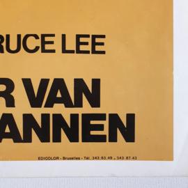 return of the eighteen bronzemen bruce lee style kung fu cult film movie poster 1976