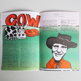 vera club krant groningen programma nr.11 28 mei 1992 COW