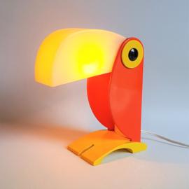tafellamp toekan old timer ferrari italy tablelamp toecan 1968