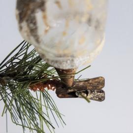 kerstversiering kerstman christmas santa ornament 1930s - 1950s