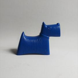 spaarpot hond money box blue dog stig lindberg handelsbanken 1960s