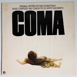 coma soundtrack LP jerry goldsmith 1978