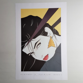 patrick nagel print op poster playboy's collection USA 1993