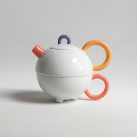 theepot teapot tea for one matteo thun clavis arzberg memphis milano 1980s