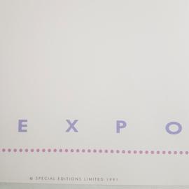 sato, pater print poster woman art expo USA 1991