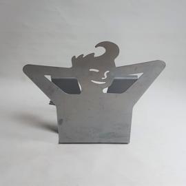 lektuurhouder magazine rack boy shaped
