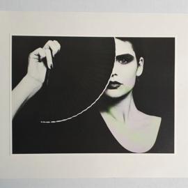 avantgarde mode fashion zwart & wit black & white print 1980s