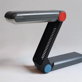 tafellamp desklamp Z lamp FGG200 philips zigzag memphis style 1980s