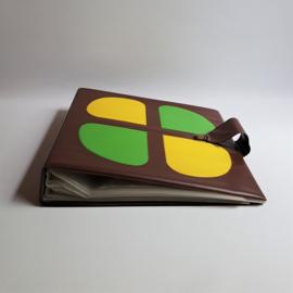 "platenmap LP`s 12"" records case space age 1960s / 1970s"