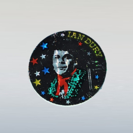 dury, ian glitter sticker 1970s GRATIS VERZENDEN