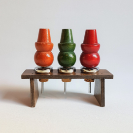 hout flessenstopper wine stoppers wood hans bolling style 1960s