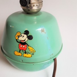 mickey mouse rat face lampenvoet lamp base 1930s