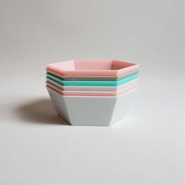 snackbakjes snack bowls 6x  1970s / 1980s