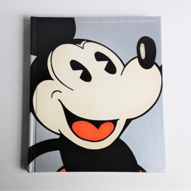 walt disney mickey mouse: the evolution the legend the phenomenon! book boek 2001