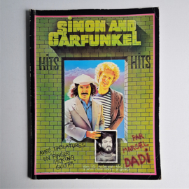 simon and garfunkel bladmuziek songbook sheet book hits france