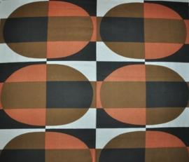vintage stof fabric ploegstoffen holland ongebruikt 1970s