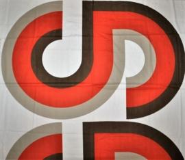 vintage stof grafisch fabric desig neil bladburn 1960s / 1970s