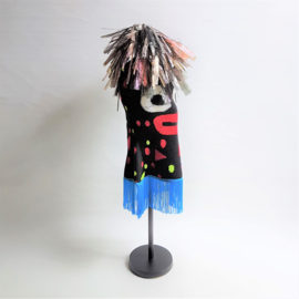 masker mask textile art bas kosters fashion tribe performance 2011