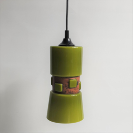 hanglamp hanging lamp glass space age victor bernt for flygsfors 1960s nr.1
