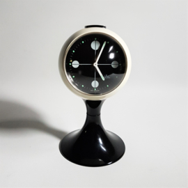 alarm klok clock tulip anker space age 1970s