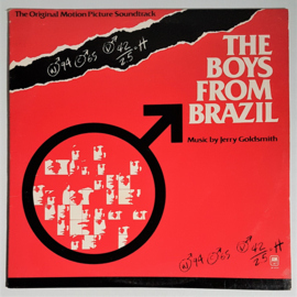 the boys from brazil soundtrack LP jerry goldsmith 1978