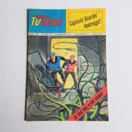 tv 2000 strip magazine captain scarlet 26 oktober 1968
