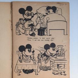 mickey mouse rat face boek book hallo hallo..hier micky muis 1930s