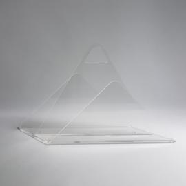 lektuurhouder magazine rack plexi glass 1980s