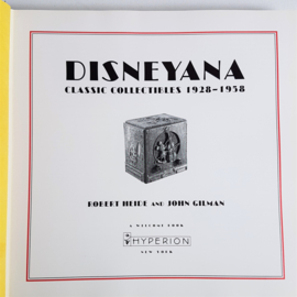 walt disney disneyana: classic collectibles 1928-1958 book boek 1994